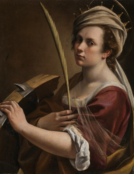 "Artemisia at National Gallery, ""I will show Your Illustrious Lordship what a woman can do"""