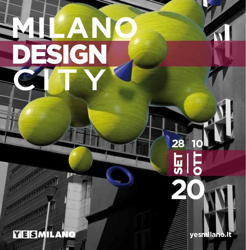 Milano Design City, eventi diffusi dal 28 settembre al 10 ottobre